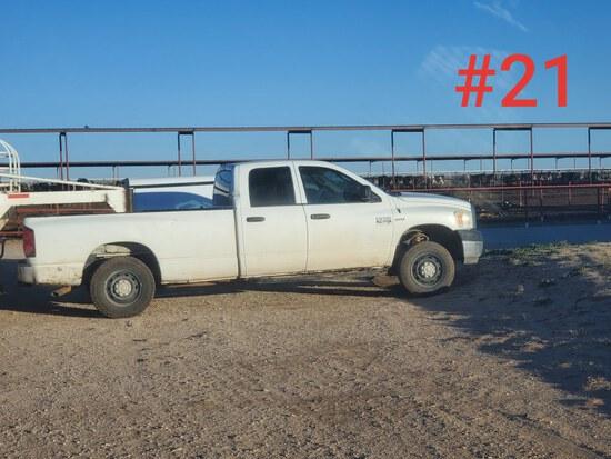 2007 Dodge 2500 3/4 Ton Pick Up