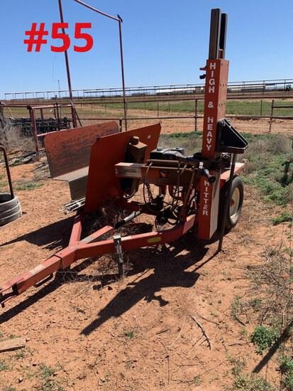 Wheat Heart Hydraulic T-Post Driver