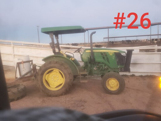 JD 5045e Tractor