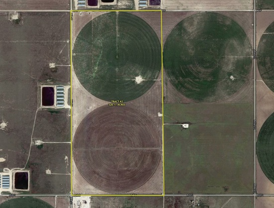 320 acres of Well-Managed Farmland with Irrigation in Texas County, OK