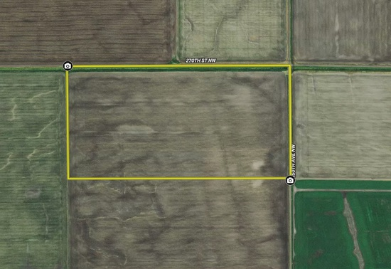 Tillable Tract With Good CPI And Easy Access