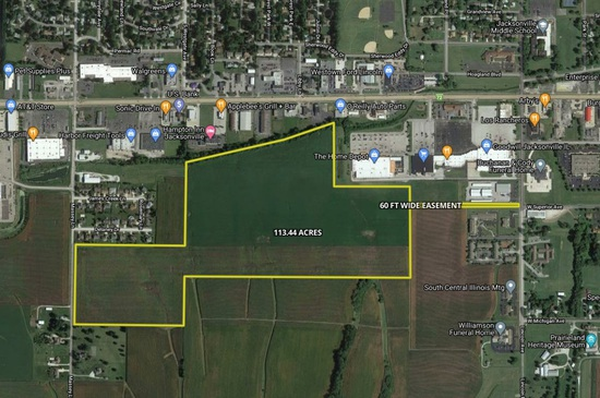 Highly Productive Tillable Farm In Morgan County Illinois