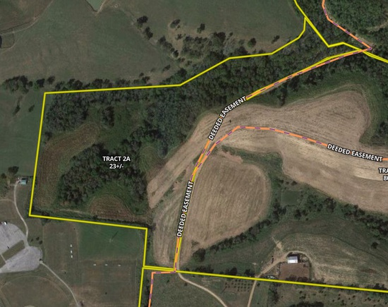 Tract 2A - 23 +/- Acres