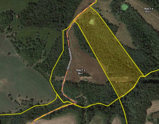 Tract 3 - 36 +/- Acres - Selling Absolute
