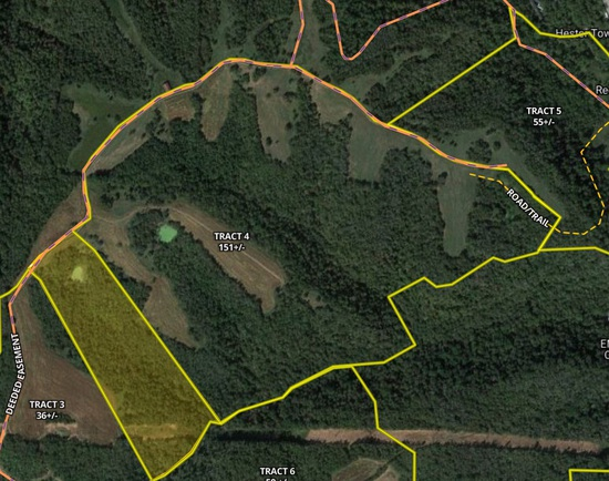 Tract 4 - 151 +/- Acres - Selling Absolute