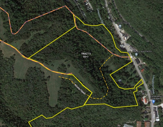 Tract 5 - 55 +/- Acres - Selling Absolute