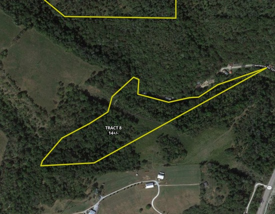 Tract 8 - 14 +/- Acres - Selling Absolute