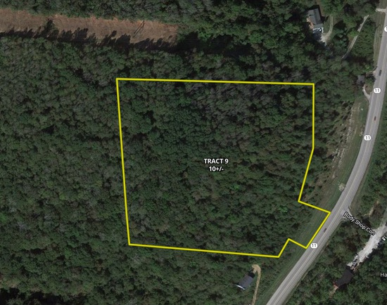 Tract 9 - 10 +/- Acres - Selling Absolute