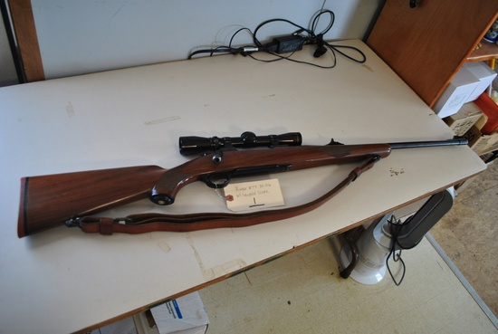 RUGER M77 30-06 W/ LEUPOLD SCOPE