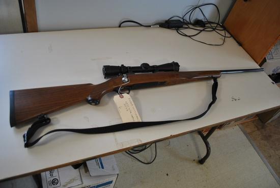 RUGER M77 MARK II .270 WIN W/ LEUPOLD SCOPE