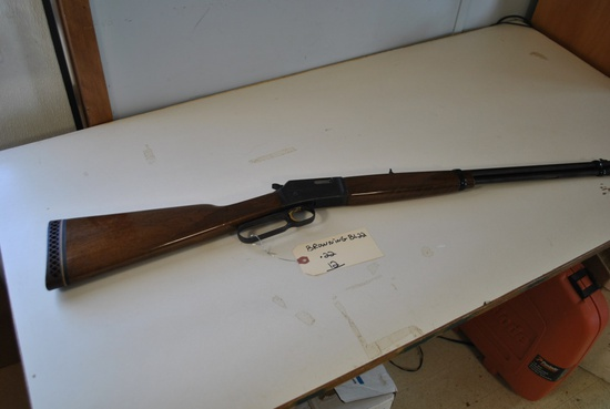 BROWNING BL22 .22 RIFLE, LEVER