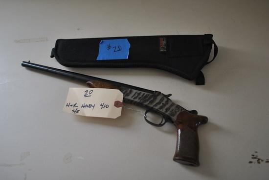 H&R HANDY GUN .410GA PISTOL W/ HOLSTER