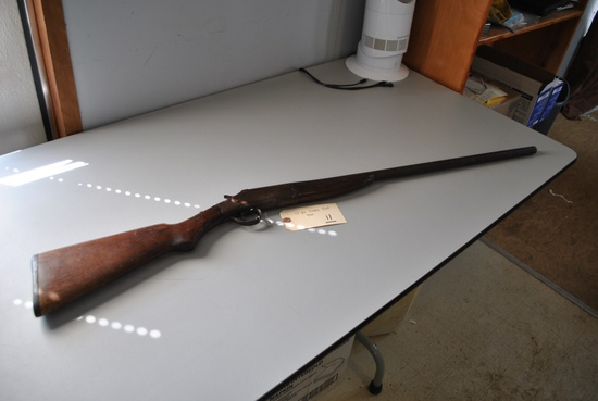 12GA SINGLE SHOT SHOTGUN- UNKNOWN BRAND