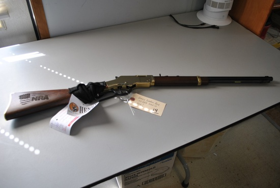 HENRY GOLDEN BOY .22 NRA RIFLE- NEW IN BOX