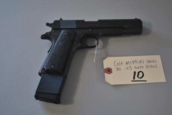 COLT M1991A1 SERIES 80 .45 AUTO PISTOL