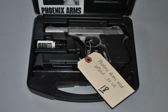 PHOENIX ARMS MOD HP22A .22LR