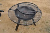 FIRE PIT W/ COOKING GRILL