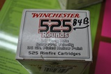 525 ROUNDS WIN .22LR AMMO