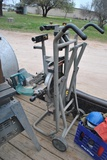 MIKITA MITER CHOP SAW ON STAND