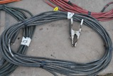 90FT WELDING LEAD W/ GROUND CLAMP