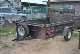 T.PULL 10FTx6FT TRLR W/ 2FT SIDES, RAMP GATE, S/A