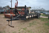 T.PULL 25FTx5FT UTILITY TRLR- B/S