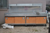 9FT SS WORK CABINET