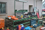 9FTx5FT METAL SHOP TABLE