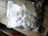 BAG MEXICAN COINS