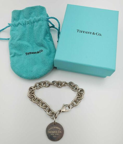 Return to Sender Tiffany & Co. Sterling Silver Bracelet