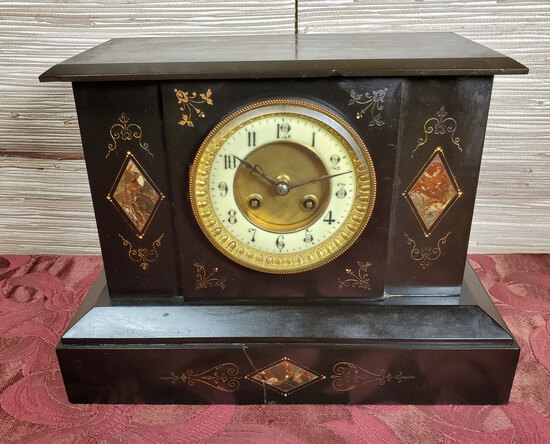 Antique Aesthetic Movement 1800's Mantle Clock