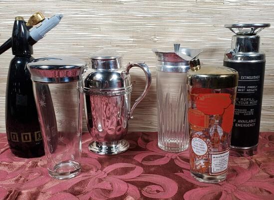 6 Barware Cocktail Shakers