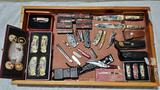 Case Lot of Collectible Sheath, Designer and Pocket knives