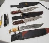 Group Of 5 Knives