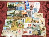 Approx. 400 Vintage Postcards