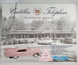 Vintage TeleMania 1959 Pink Cadillac ElDorado Biarritz Landline Telephone w/Box