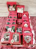 25 Lenox & Spode Christmas Ornaments New in Box
