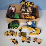 13 Tonka, Buddy L, Solido, Ertl Construction toys