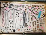 Large Lot Costume Jewelry incl. Many Signed Pcs.