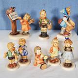 8 Petite Hummel Figurines