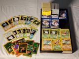 600+ 1999-2000 Pokemon Cards incl Holo Foil, Japanese Pocket Monsters, Etc