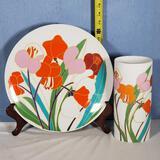 Rosenthal Studio-Line Wolf Dauer Design Vase & Charger