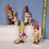 4 Goebel Co-Boy Figurines - Tmk4 Tom & Bit & Tmk5 Jack & Fritz