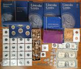 Case Lot of US Coins and Currency