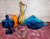 5 Pcs. of Art Glass