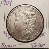 1904 Scarce Morgan Silver Dollar