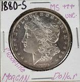 1880-S MS++ Proof Like Morgan Silver Dollar