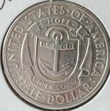 1936-S Rhode Island Commemorative Silver Half Dollar High Grade