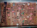 Case Lot Fashion Jewelry incl. Kirks Folly