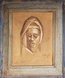 Surrealist Artist David Phillip Anderson 1926-1996 Oil On Board 1964